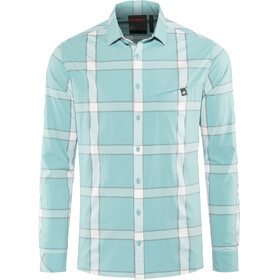 Mammut Mountain Longsleeve Shirt Herren waters-bright white-titanium